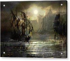 Port Tortuga Acrylic Print