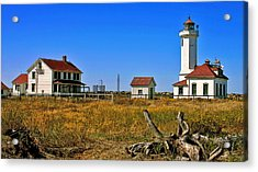 Acrylic Print featuring the painting Port Townsend by Larry Darnell