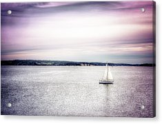 Acrylic Print featuring the photograph Port Townsend Sailboat by Spencer McDonald