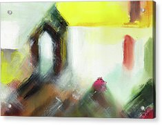 Acrylic Print featuring the painting Portal by Anil Nene