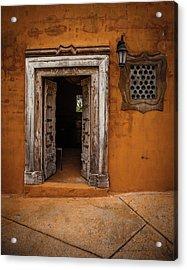 Portal Acrylic Print by Carl Chick
