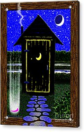 Portal Potty Acrylic Print