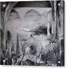 Portal To Bogomils Universe Iv Acrylic Print by Otto Rapp