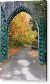 Portal To The Colorful Autumn Season Acrylic Print by Pierre Leclerc Photography