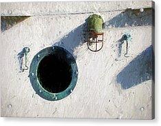 Portal To The Sea, Fine Art Print Acrylic Print by Greg Sigrist