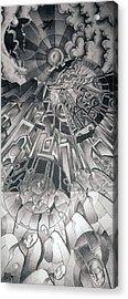 Portals Acrylic Print by Myron  Belfast