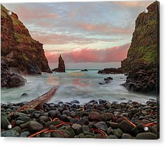 Portcoon Acrylic Print by Roy McPeak