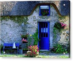 Porte Bleue Acrylic Print