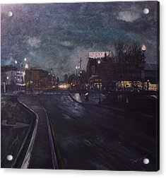 Porter Square Acrylic Print by Richard Ong