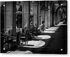 Portico Conversation Acrylic Print