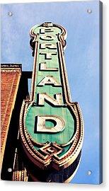 Portland Acrylic Print by Cathie Tyler