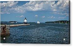 Portland Harbor, Maine Acrylic Print