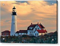 Portland Head Light-cape Elizabeth, Maine Acrylic Print