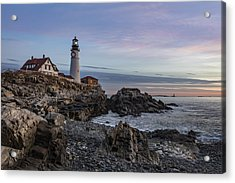 Portland Head Light December 2015 Acrylic Print