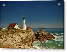Portland Head Lighthouse 2 Acrylic Print by Sherman Perry