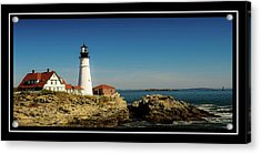 Portland Head Lighthouse 7 Acrylic Print by Sherman Perry