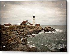 Portland Head Lighthouse Acrylic Print by A New Focus Photography