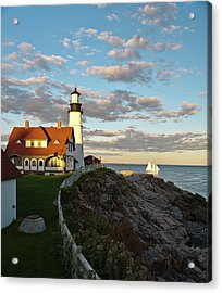 Acrylic Print featuring the photograph Portland Light by Rick Hartigan