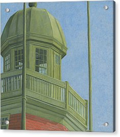 Portland Observatory In Portland, Maine Acrylic Print by Dominic White