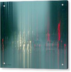 Portland Rains Acrylic Print