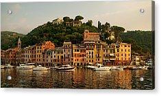 Portofino Bay Acrylic Print