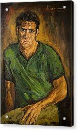 Portrait - Bert Marge Acrylic Print by Joni Herman