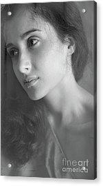 Portrait #7385 Acrylic Print by Andrey Godyaykin