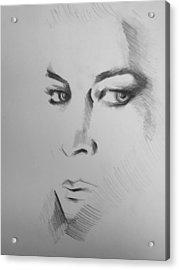 Portrait Acrylic Print by Candice DeKay
