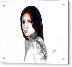 Portrait  Exotic  Acrylic Print