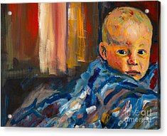 Portrait For A Mother Acrylic Print