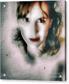 Portrait In Antonym  Acrylic Print by Steven Digman