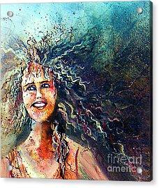 Portrait Me Acrylic Print