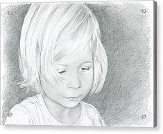 Portrait Of A Child 2 Acrylic Print