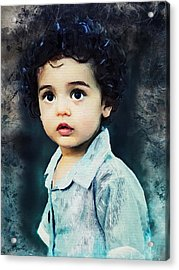 Portrait Of A Child Acrylic Print