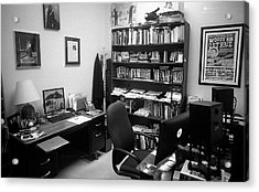 Portrait Of A Film/tv Professor's Office Acrylic Print