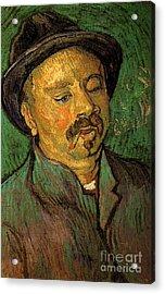 Portrait Of A One-eyed Man Acrylic Print