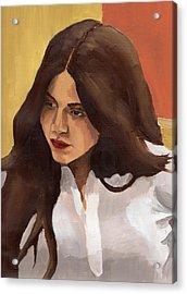 Portrait Of Amelia Acrylic Print