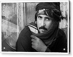 Portrait Of An Arab Man Acrylic Print