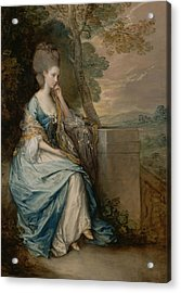 Portrait Of Anne Countess Of Chesterfield Acrylic Print