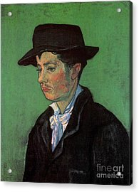 Portrait Of Armand Roulin 2 Acrylic Print by Vincent Van Gogh