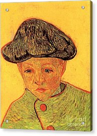 Portrait Of Camille Roulin 2 Acrylic Print by Vincent Van Gogh