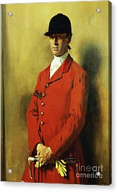 Portrait Of Captain Marshall Roberts, Master Of The Fox Hounds Acrylic Print