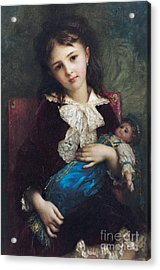 Portrait Of Catherine Du Bouchage Acrylic Print