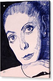 Portrait Of Catherine Acrylic Print
