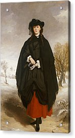 Portrait Of Daisy Grant Acrylic Print