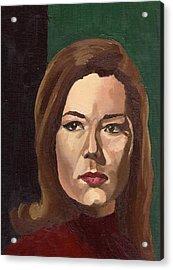 Portrait Of Diana  Acrylic Print