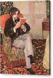 Portrait Of Felix Acrylic Print by Camille Pissarro