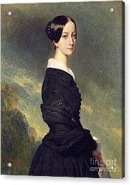 Portrait Of Francisca Caroline De Braganca Acrylic Print