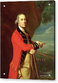 Portrait Of General Thomas Gage Acrylic Print by John Singleton Copley