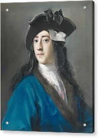 Portrait Of Gustavus Hamilton, 2nd Viscount Boyne  Acrylic Print by Rosalba Carriera